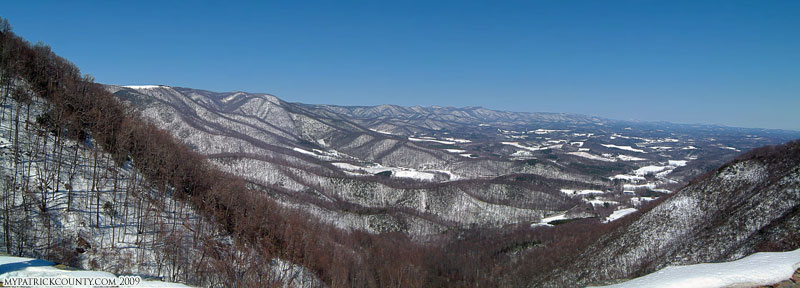 Winter View from From Lovers Leap